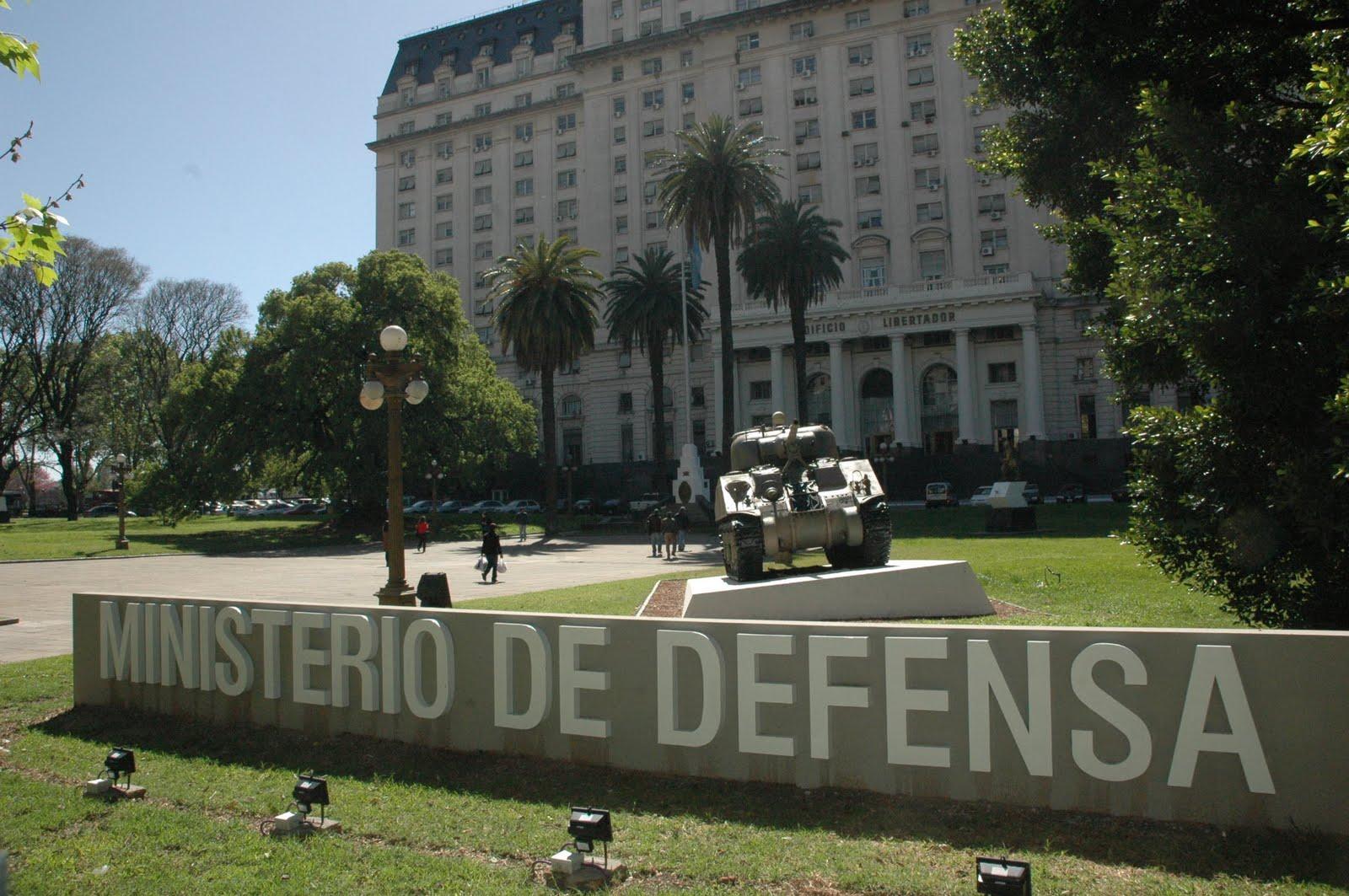 Opiniones de ministerio de defensa argentina for Ministerio de defenza