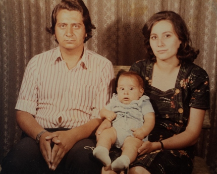 Horacio, María Cristina y Fernando